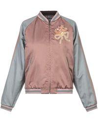 Gucci Sequin Embellished Bomber Jacket - Pink