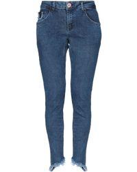 One Teaspoon Pantalones vaqueros - Azul