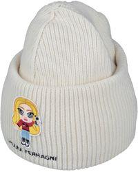 Chiara Ferragni Hat - White