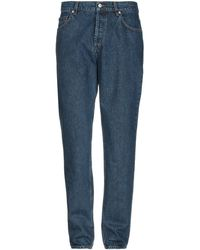 Norse Projects Denim Trousers - Blue
