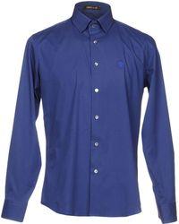 Roberto Cavalli Camisa - Azul