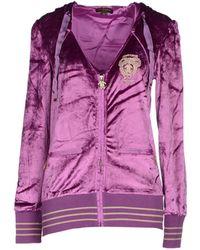 Roberto Cavalli Sweatshirt - Purple