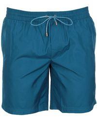 Dolce & Gabbana Bañadore tipo bóxer - Azul