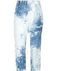 Enza Costa 3/4-length Short - Blue