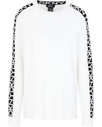 DKNY Pullover - Blanc