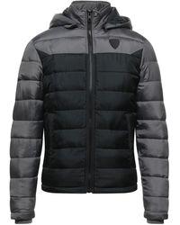 Solid Down Jacket - Grey