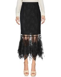 Christopher Kane 3/4 Length Skirt - Black