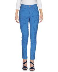 2W2M Denim Pants - Blue