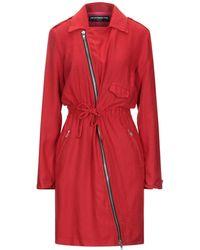 Department 5 Knielanges Kleid - Rot