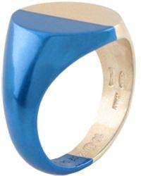 Maison Margiela Ring - Blau