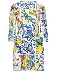 Dolce & Gabbana - Vestito corto - Lyst