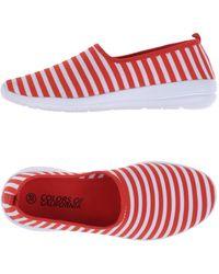 Colors Of California Low Sneakers & Tennisschuhe - Rot