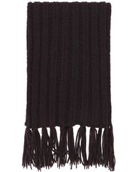8 by YOOX Scarf - Brown