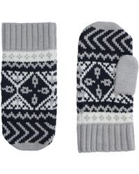 Tommy Hilfiger Gloves - Gray