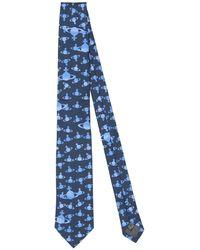 Vivienne Westwood Tie - Blue