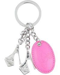 Vivienne Westwood Key Ring - Pink