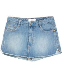 Ba&sh Denim Shorts - Blue