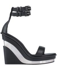 Alexander McQueen Sandals - Black
