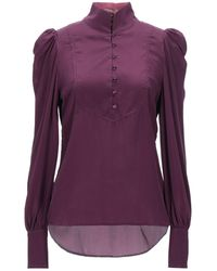 Custommade• Blouse - Purple
