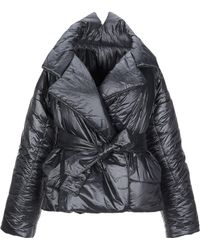 Norma Kamali Synthetic Down Jacket - Black