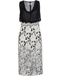 X's Milano Knee-length Dress - Grey