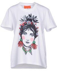 Clover Canyon T-shirt - Bianco