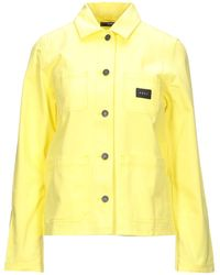 Obey Denim Outerwear - Yellow