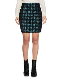 Genny Mini Skirt - Blue