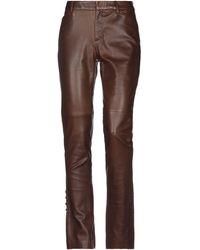 Ralph Lauren Black Label Pantalones - Marrón