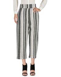 Teresa Dainelli - 3/4-length Trousers - Lyst