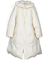 MM6 by Maison Martin Margiela Down Jacket - White