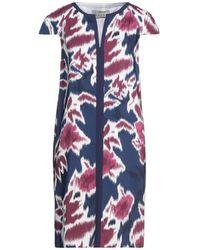 Mantu Short Dress - Blue