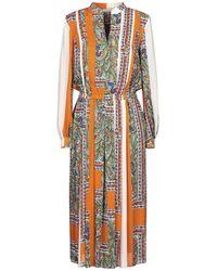 Tory Burch Midi Dress - Orange