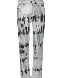 Diesel Black Gold Pantalon en jean - Gris