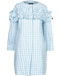 Boutique Moschino Lange Jacke - Blau