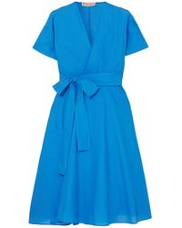 Esteban Cortazar Knee-length Dress - Blue