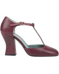 Paola D'arcano Court Shoes - Purple