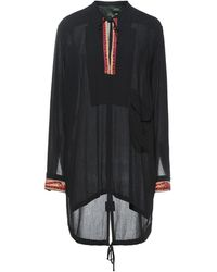 Amen Kurzes Kleid - Schwarz