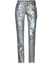 Versace Jeans Couture Denim Pants - Blue