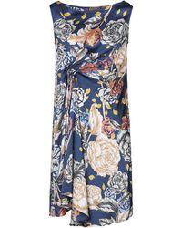Maliparmi Knee-length Dress - Blue
