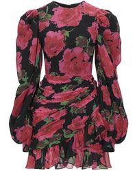 Richard Quinn Short Dress - Red
