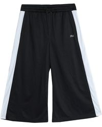 Fila Pantalones cropped - Negro