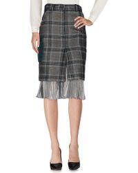 Daizy Shely - 3/4 Length Skirts - Lyst