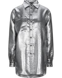 Marco De Vincenzo Shirt - Metallic