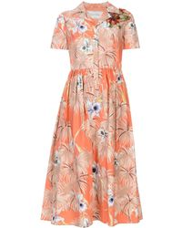 Valentino - 3/4 Length Dress - Lyst