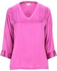 Her Shirt Blusa - Morado