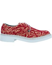 Paciotti 308 Madison Nyc Lace-up Shoes - Red