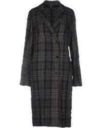 Manila Grace Overcoat - Gray