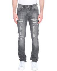 Michael Bastian Pantalon en jean - Gris