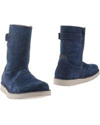 Birkenstock Ankle Boots - Blue